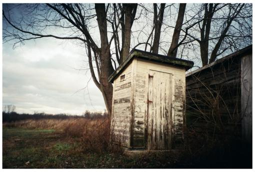Out House 2, Ohio, Dec13