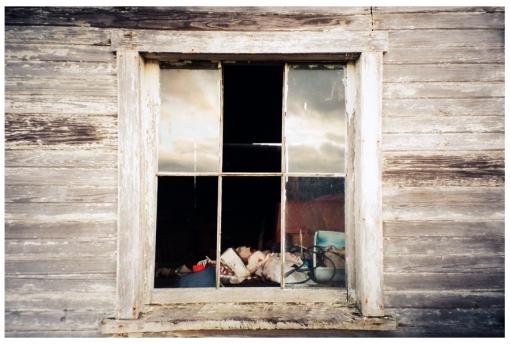 Window to my Sole, Ohio, Dec13
