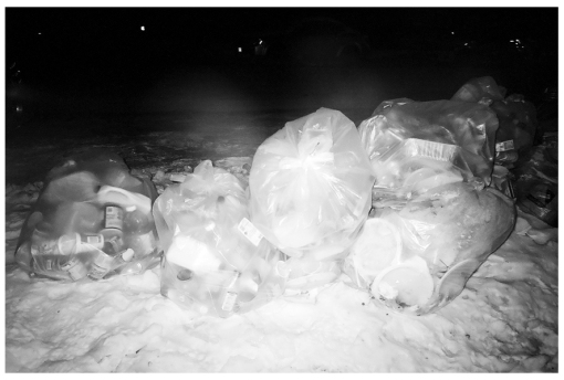 Blizard Garbage Ghosts, Clinton Hill, Mar14