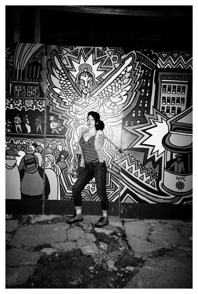 Carly Sioux 2, Mural, Clinton Hill, Jul14