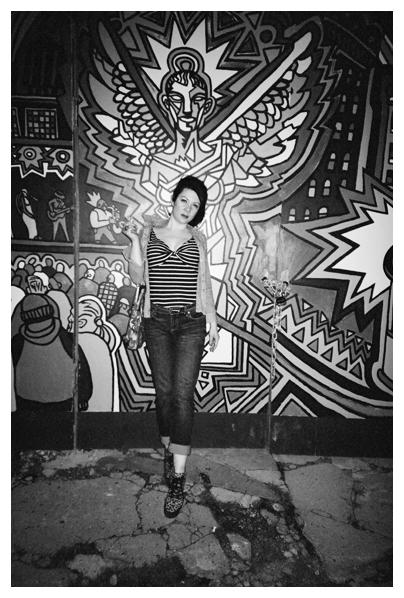Carly Sioux, Mural, Clinton Hill, Jul14