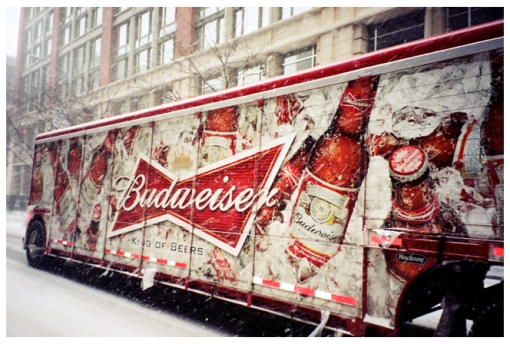 Ice Cold Budweiser, Feb14