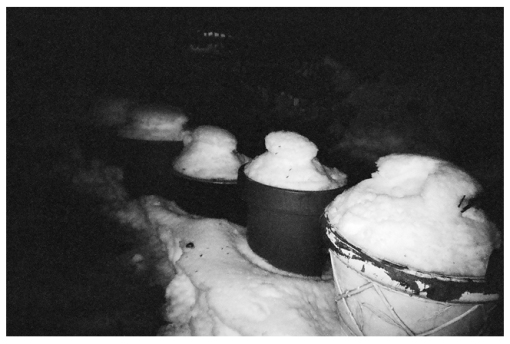 Piles of Snow, Clinton Hill,Mar14