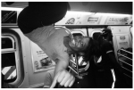 Subway Dancer, Fist Pump, Q Train, Jun14