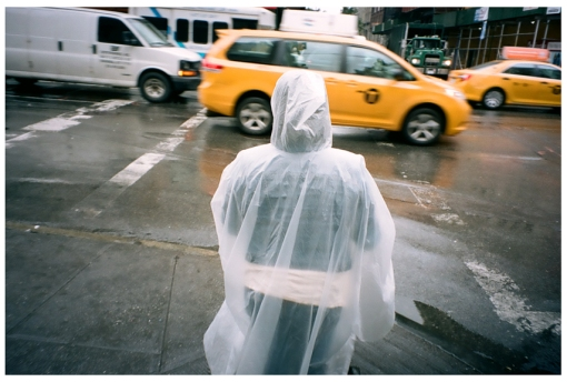 Plastic Rain Suit, Chelsea, Jun14