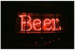 Beer, Red, Neon, night, light,Nov13