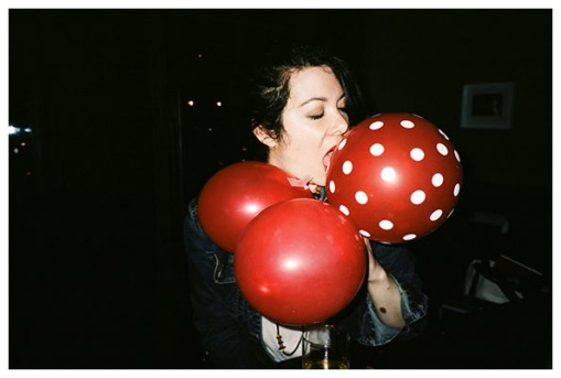 Carly, Red Balloons, Sage, May14