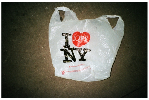 I Love NY, Plastic Bag, Trash, June13