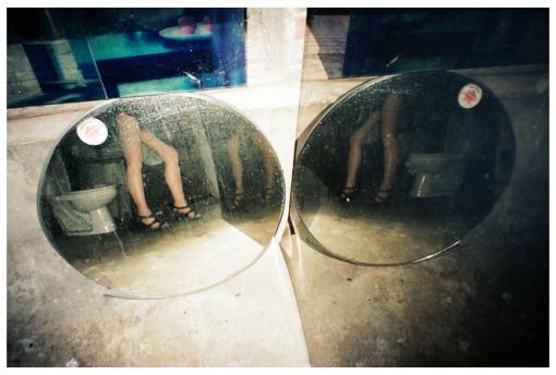 Carly Selfie, Mannequin Legs, Summer14