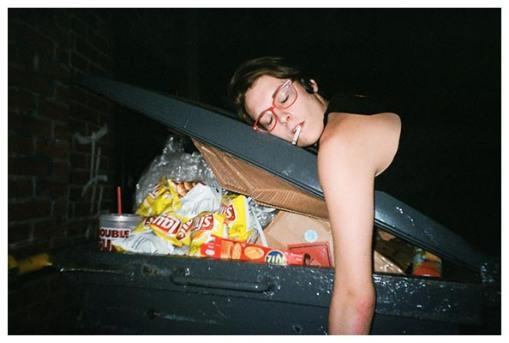 Dani, trashed, Bushwick, Summer14