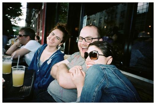 Emily, Mikey & K† @ Gueros, Jun14
