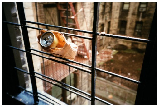 Beer stuck in window 2 Beekman, Summer15