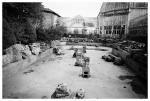 Belle Isle Conservatory, Empty Garden Pool, DTApr15