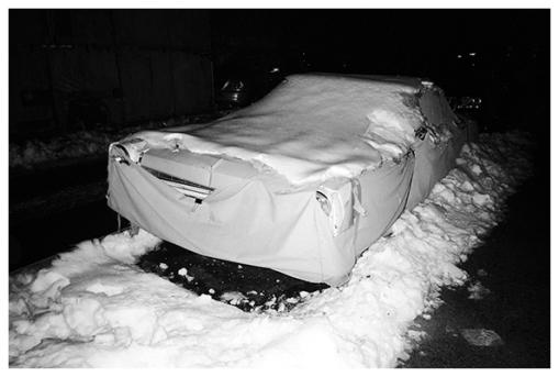 Ghost Car White as Snow, Apr15