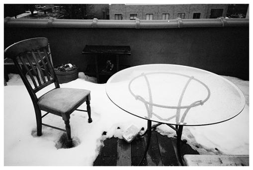 Rooftop under Snow, Mar15