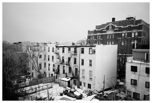rooftop view, Bedstuy, Mar15
