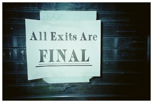 All Exits are Final, Brooklyn Summer2015