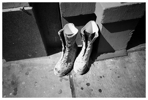 Cement Boots, Flatiron, Aug15