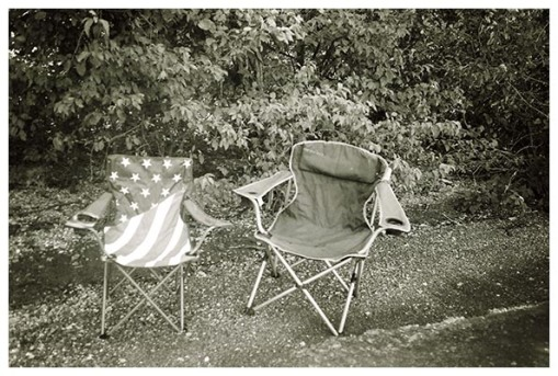 Two Chairs, Erica, Percy Priest Lake, TN Aug15