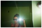 Carly, Green Room Selfie, Nashville,Aug15