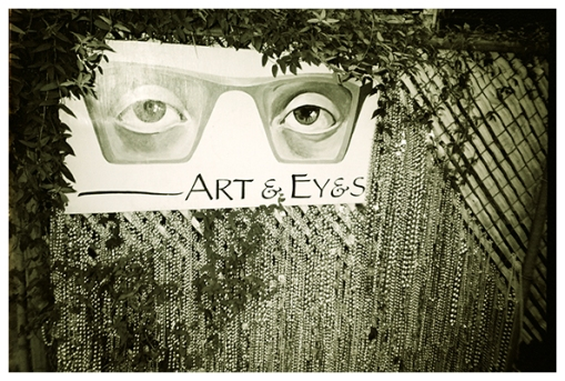 Art and eyes