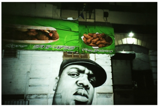 Biggie Smalls, Dreams of Fried Chicken, Bedstuy, Apr14