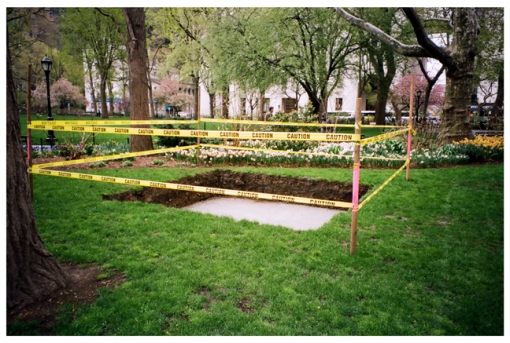 Caution, Shallow Grave, Spring, Pratt, May14