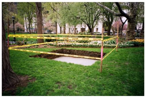 Caution, Shallow Grave, Spring, Pratt, May14