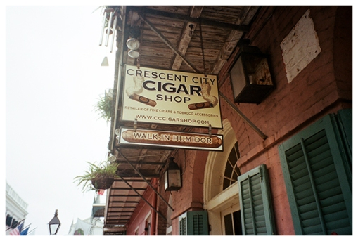 Crescent City Smokes, NOLA, Oct15