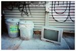 Garbage, Tin, Shiny Metal, Bedstuy,Oct15