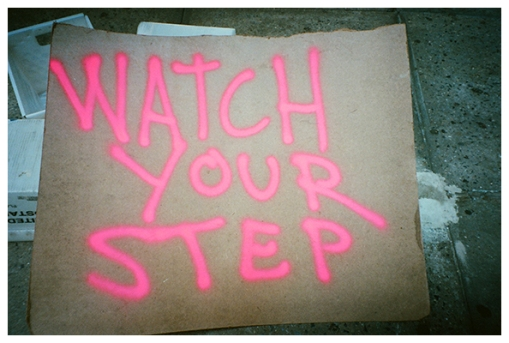 Watch your step, Flatiron, Jul15