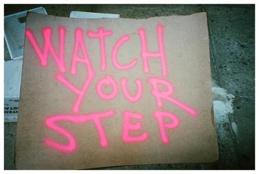 Watch your step, Flatiron, Jul15