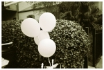 White Ghost Balloons, NOLA, Oct15